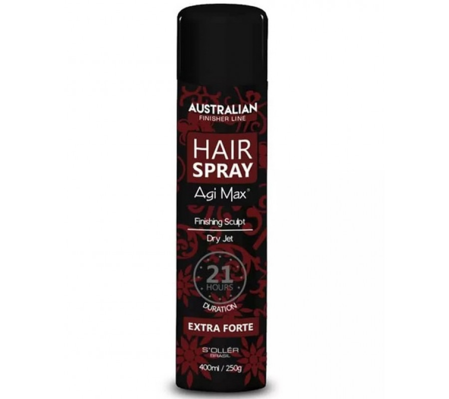 finalizador de alta performance profissional  Hair Spray