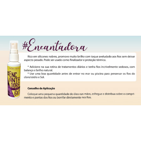 Finalizador Gloss Spray Encantadora