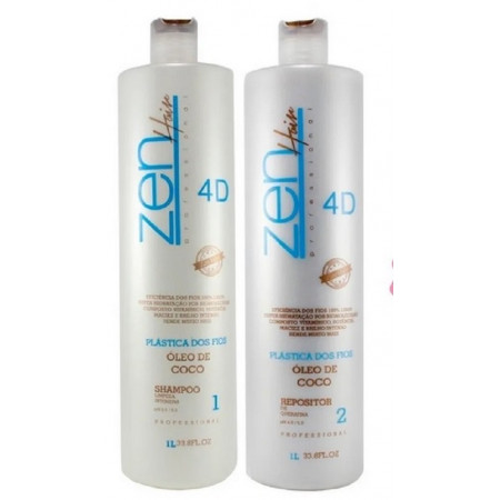 Escova Progressiva Zen Hair 4d