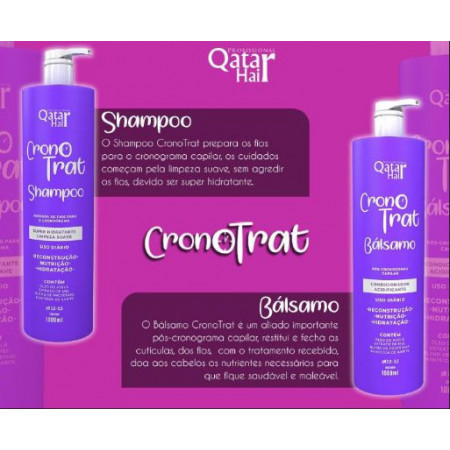 kit Cronotrat Bálsamo 2x 1000 ml